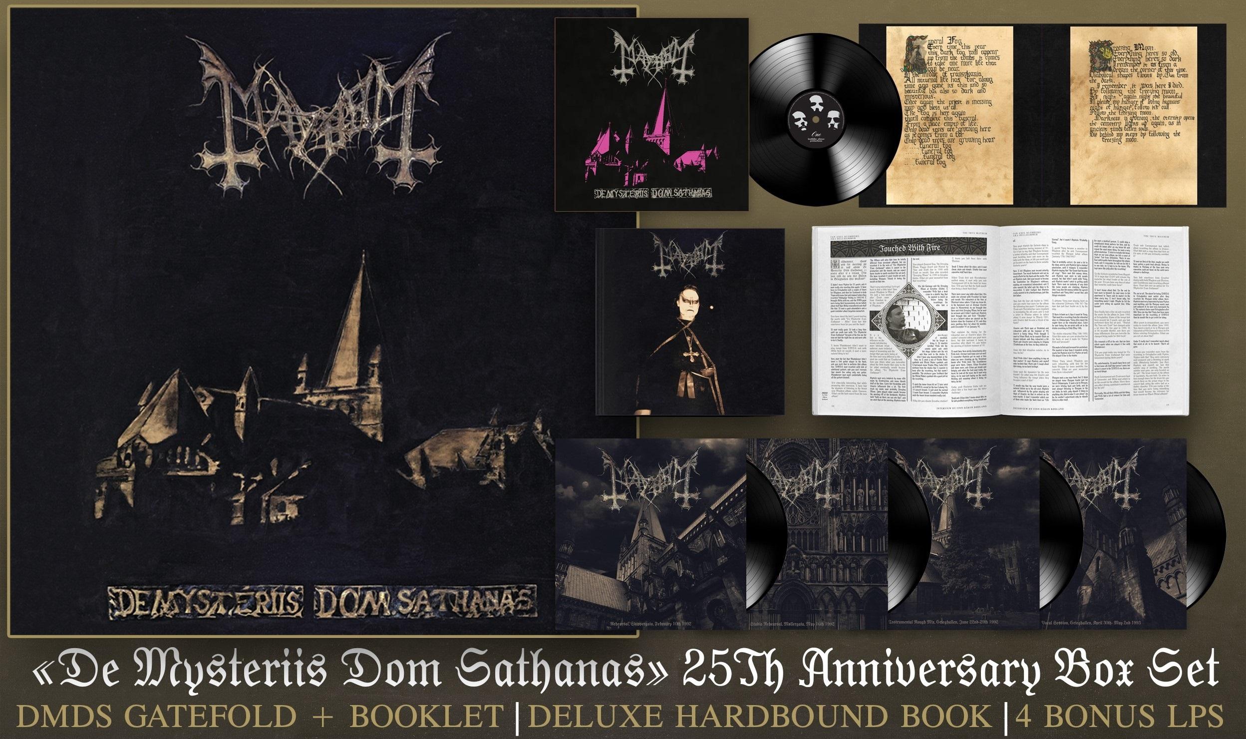 Mayhem De Mysteriis Dom Sathanas box